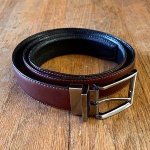 Banana Republic Men's Reversible Black/Brown Belt
